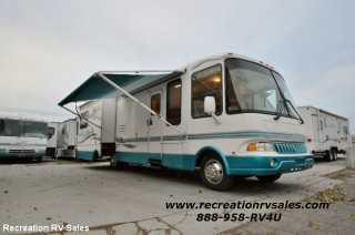 2001 REXHALL REX AIR 3250BSL MOTORHOME WITH 2 SLIDES Class A
