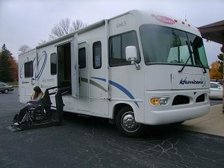 Handicap Accessible Class A Motorhome Class A Motorhome