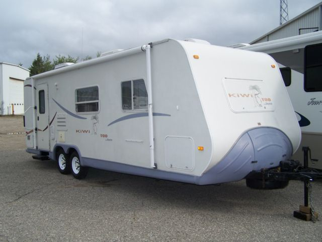 New LOCATED IN ST JOHNS 2002 Jayco, 28R, GVWR Is 6100, 2 Doors, Couch Slide, Separate Bedroom, Hasnt Been Used Is A Little Over A Year So It Needs A Good Cleaning Inside Needs Some Minor Repairs Like New Canvas Not Terrible, Steps