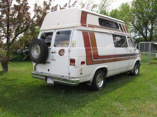 Chevrolet Van 1979 Chevrolet gladiator camper van c10