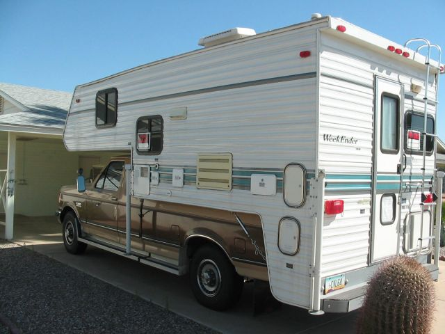 1998 Weekender and 1990 Ford F250 XLT EXT Cab Truck Camper