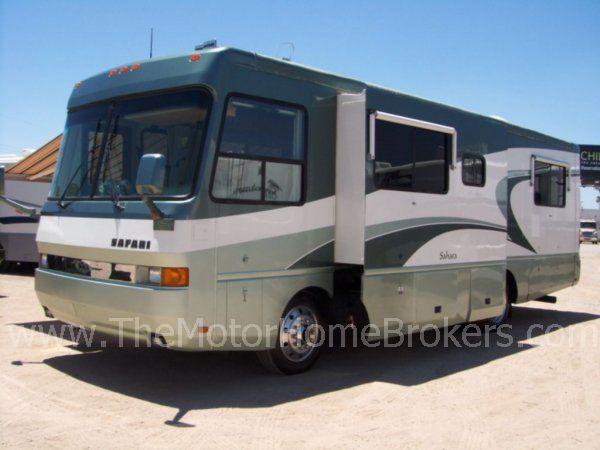 2000 safari sahara 32 39 diesel pusher class a motorhome. Black Bedroom Furniture Sets. Home Design Ideas