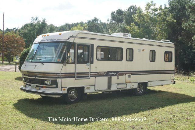 1985 Heritage 2000 Reduced Class A Motorhome