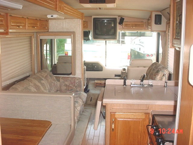 1998 rexhall rexair with 1 slide class a motorhome for Factor motors le center mn