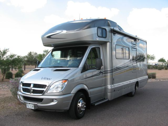 Mercedes Benz Rv >> 2010 Winnebago View 24J - Mercedes Benz Diesel - 15-18 MPG Class C Motorhome