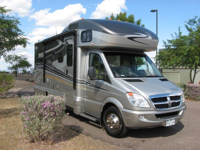 Excellent 2012 Mercedes Motor Home View Profile Class C Motorhome