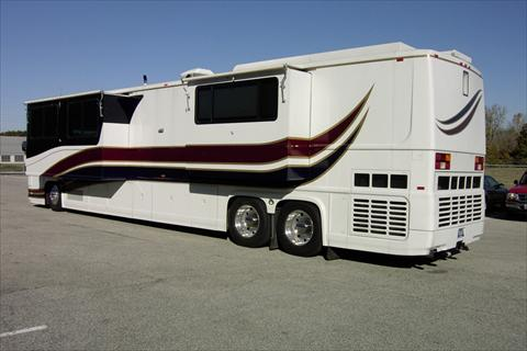 1999 newell 1 bedroom 1 1 2 bath 45 39 class a motorhome for 1 bedroom rv