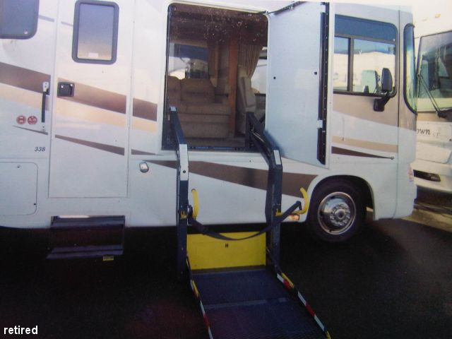 Class a with electric wheelchair lift class a motorhome Wheelchair lift motor