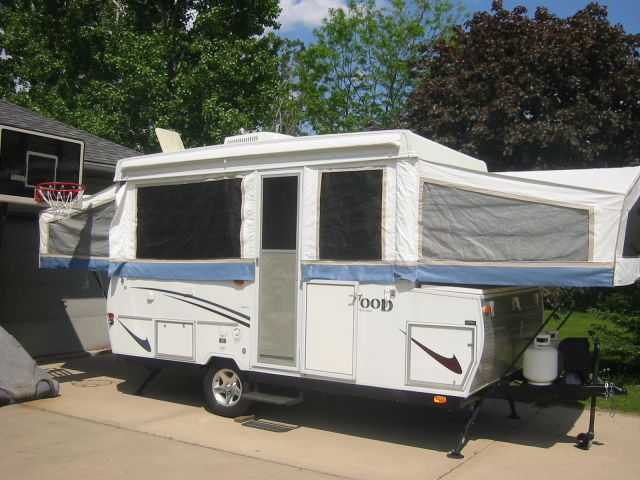 2004 Rockwood High Wall Popup Camper Loaded Popup Camper