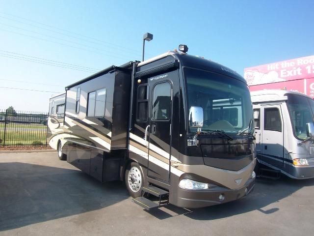 2008 fleetwood providence 40e garage kept class a motorhome