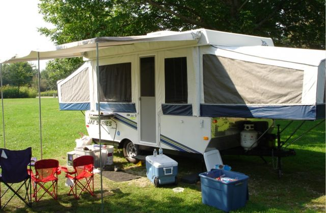 Near Perfect 2008 Jayco 1207 Pop Up Popup Camper