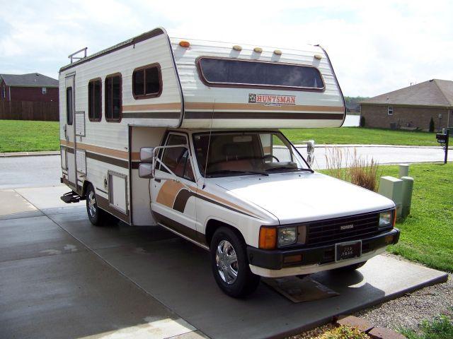 1984 toyota Motorhome Class C Motorhome