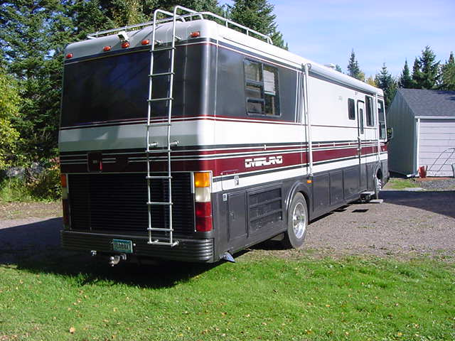 Diesel Generator For Sale >> 1990 Overland Class A Motorhome