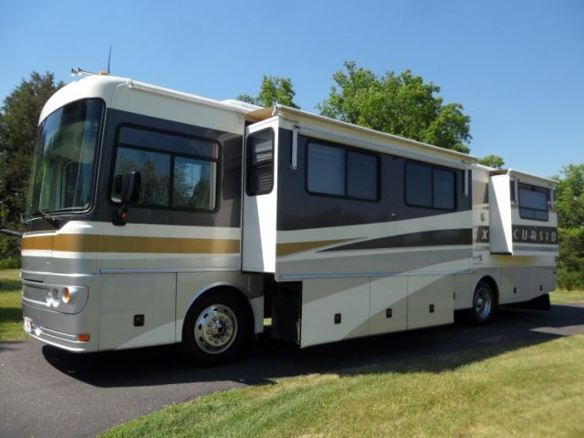 2002 Fleetwood Excursion City Scape 38 Rv Class A Motorhome