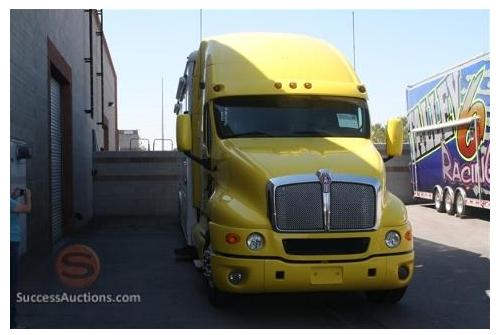 Online only auction kenworth toterhome motorcoach for 125 12th street 4th floor oakland ca 94607