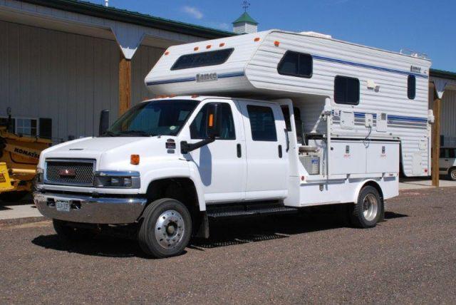 1999 Lance Truck Camper And Gmc Duramax Diesel Truck Camper