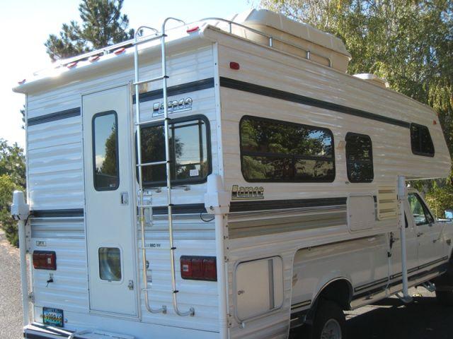 1995 Lance 880 Truck Camper In Oregon Truck Camper