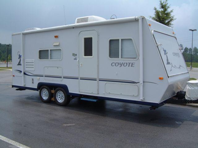 Kz Coyote Hybrid Travel Trailer